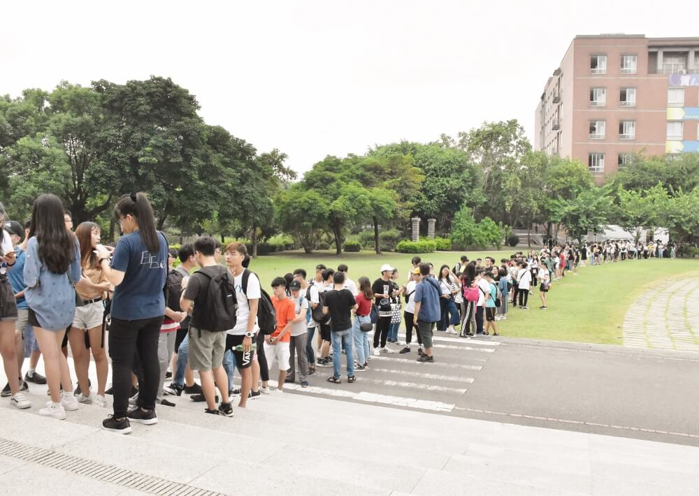 1-4.AU Movie Festival had attracted more than 2000 students join.